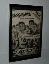 The Police 1979 Propaganda Banned In Taiwan Framed Promo Movie Poster / Ad
