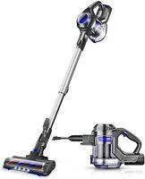 MOOSOO XL-618 Cordless Vacuum 10Kpa  Suction 4 in 1 Stick Handheld Vacuum Clean
