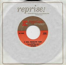 THE KINKS  A Well Respected Man / Such A Shame  rare original 45 from 1965