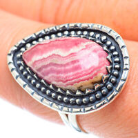 Rhodochrosite 925 Sterling Silver Ring Size 9 Ana Co Jewelry R55648F