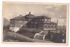 NORWAY OLD POSTCARD    BERGEN FLÖIRESTAURANTEN HAUKELAND TO FONTENAY: BOIS1927
