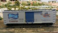 Train Miniature Ltd. Run HO Motor Cigarettes 40' DS Wood Boxcar Upgraded