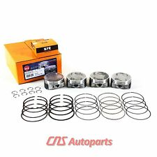 "For 99-06 Subaru Saab 2.5L SOHC .020""(.50) Over NPR Engine Piston Ring Kit EJ25"
