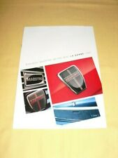 AUSTIN ROVER Montego Maestro Metro Mini La Gamme 1990  Brochure 14 pages