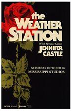 The Weather Station 2018 Gig Poster Portland Oregon Tamara Lindeman Concert