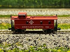 N Scale - Atlas 3577 Erie Lackawanna Steel Caboose 780 N2530