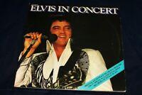 Elvis Presley LP Elvis in Concert  Gatefold Double RCA Victor 1977 ' ORIGINAL VG