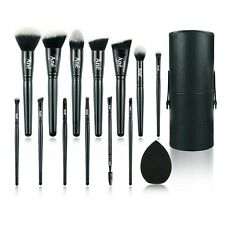 Makeup Brush Set 13 Piece with Travel Case Included FREE DELIVERY