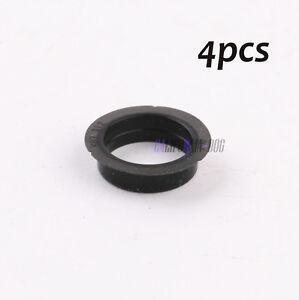 4x Bumper Grille Park Sensor Black Sealing Ring Set For AUDI A4 A6 VW Seat Skoda