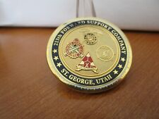 US Army 213th Forward Support Company Operation New Dawn Challenge Coin #995D
