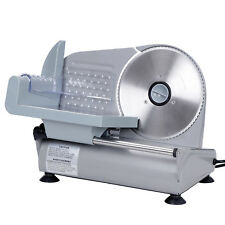 "Commercial Meat Slicer Electric Deli Slice 7.5"" Blade 150W Veggie Cutter Kitchen"