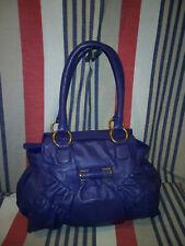 Purple Modalu Leather Bag