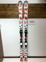 Atomic Titanium 174 cm Ski + BRAND NEW Atomic 10 Bindings FIS Sport Winter Fun