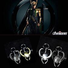 Marvel The Avengers Loki Helmet Metal Keychain Key Chain Keyring Gift Present