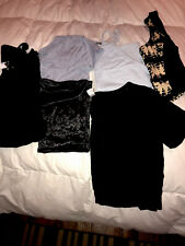 Juniors Clothing Lot Size Small 6-shirts Name Brands