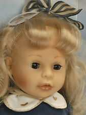 Zapf Puppe Sarah Colette 43 cm Spielpuppe Sammlerpuppe