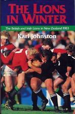 Los Leones en invierno por Karl Johnston British Lions Tour de Nueva Zelanda 1983 Rugby Libro