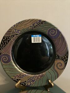 Gorgeous Set of 4 Arcoroc Tampico dinner plates New And Never Used