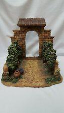 "Fontanini Roman Italy Older The Vineyard Rare 5"" Heirloom Nativity Village"