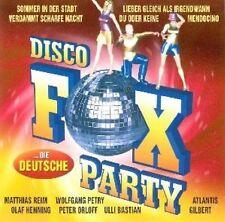 Disco Fox Party-Die Deutsche Matthias Reim, Andreas Martin, Phil & John, .. [CD]