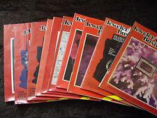 Lot of 12 Jeweler / Lapidary Business Magazines - 1981 1982 1983 1984