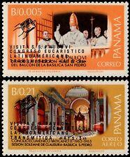 ✔️ PANAMA 1968 - SPACE OVPT POPE PAULUS VI - MI. 1097/1098 ** MNH [PN01097a]