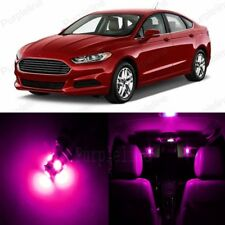11 x Pink LED Interior Light Package For 2013 - 2018 Ford Fusion + Pry Tool