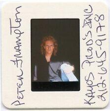 Peter Frampton '92 Promo Color Slide, Publicity Photo, Bio, A&M Press Release
