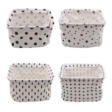 Closet Sundries Box Foldable Storage Bin Underwear Household Desktop Basket LP