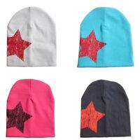 Beanie Cotton Soft Baby Star Hat Boy Girl Toddler Infant Children Cute Hat Cap