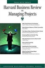 Harvard Business Review On Managing Projects (Harvard Business Review Paperback
