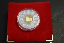 Canada 2003 $15 Proof Silver - Lunar year Of the Ram with CAO and velvet Box
