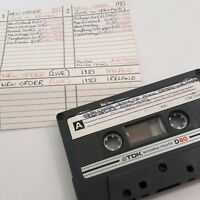 NEW ORDER LIVE IN IRELAND CASSETTE TAPE LIVE RECORDING 1983 ELECTRONIC INDIE