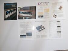 Marantz 2325, 2275, 2250b Receivers Brochure 7 Pgs, 1974, Articles, Specs, Info