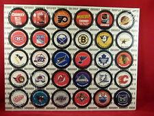 Campbell's Chunky Soup Hockey POGS  NHL Teams 10x12