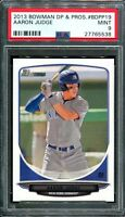 PSA 9 AARON JUDGE 2013 BOWMAN DRAFT PICKS #19 YANKEES ROOKIE CARD RC MINT QTY