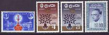 Ceylon 1959-61 SC 359-362 MH Set