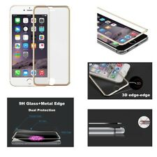 New Genuine Glass Screen Protector 3D Edge to Edge for Apple iPhone 8 7 6s 6 Gol
