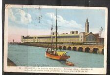 France-Cherbourg. La Nouvelle Gare Maritime.  Vintage postcard.