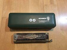 Hohner 270 G+G#(Ab) Super Chromonica Chromatic Harmonica $79.9