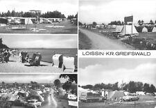 AK, Loissin Kr. Greifswald, Zeltplatz fünf Abb., 1983