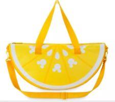 New Disney Store Mickey Mouse Lemon Wedge Cooler Bag - Summer Fun