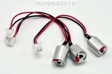 3pcs Mini 650nm 80mw Red Laser Dot Module LED Light 12x18mm w/ No Driver 2.5V