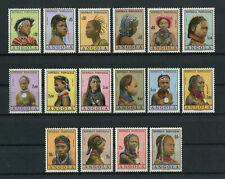 Portugal Angola 1961 WOMEN FROM ANGOLA complete set MNH, FVF