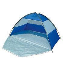 WIlton Bradley Beach Tent Blue UPF 40 Sun Protection Shelter