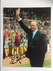 Original Hand Signed Autograph - Ron Atkinson