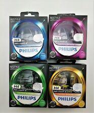 Philips ColorVision H4 Autolampe 12V 60/55W gelb / grün / blau / pink  Doppelbox