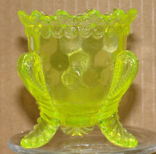 Boyd Glass Forget Me Not TP Firefly Vaseline Series1