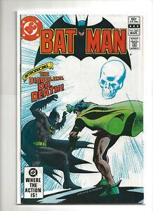 Batman #345 VF/NM 9.0 1st App Doctor Death 1st Print DC Comics 1982 Robin 80s