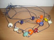 neckless  beads 15ins